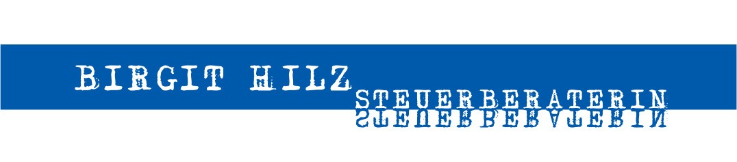 Birgit Hilz - Steuerberaterin Logo